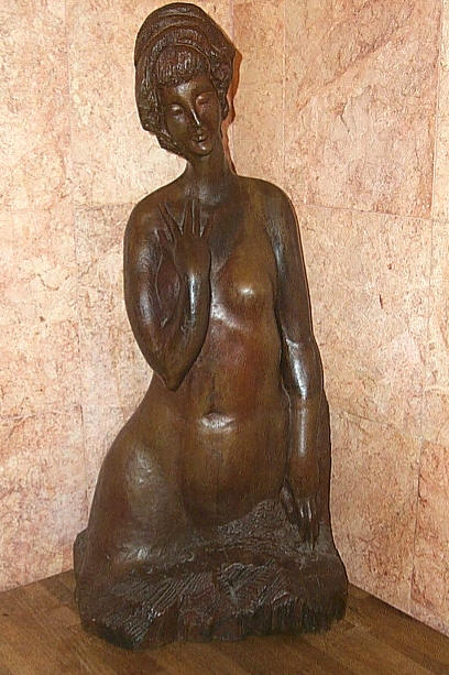 ANISFELD -  Lady in Bronze 35X16X12